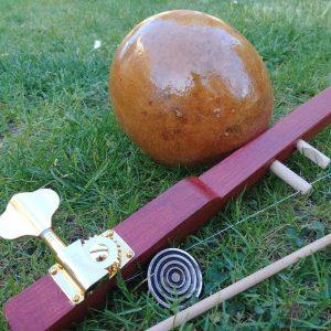tunable berimbau instrument for capoeira