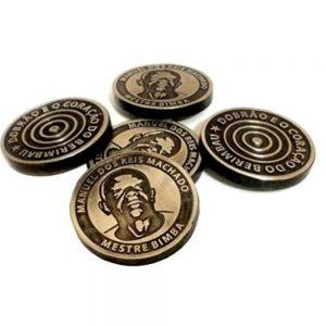 Mestre Bimba Dobrao Coin for Berimbau