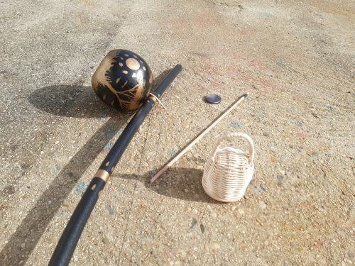 Painted Berimbau (Black+Gold) photo review