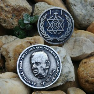3D Mestre Bimba Coin dobrao for Berimbau