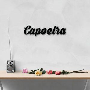 Capoeira Metal Art Wall Decor 50x50cm
